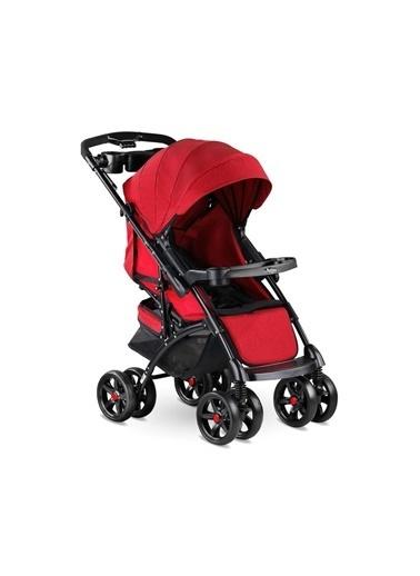 BabyHope Polo Puset Çift Yönlü 4 Teker Bebek Arabası Renkli